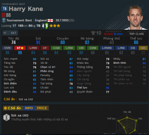 review harry kane tb