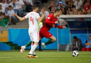 Điểm yếu Ronaldo