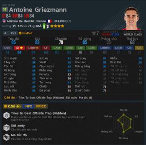 chi so griezmann 17