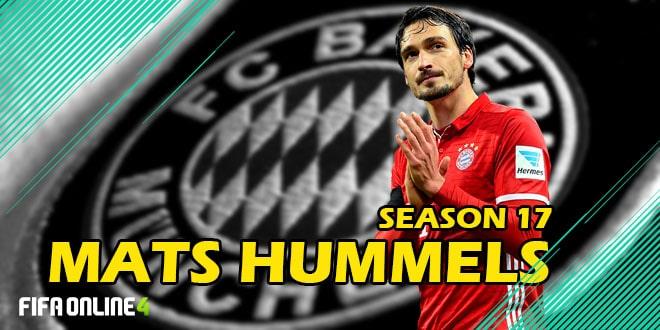 Review Mats Hummels 17 FiFa Online 4-Bức Tường Chậm Chạp