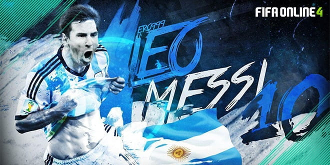 Review L.Messi NHD FiFa Online 4 – Tài Năng Thiên Bẩm