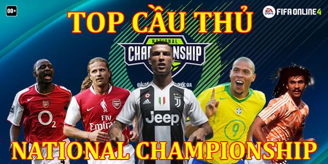 Những Cầu Thủ Được Dùng Nhiều Nhất FO4 National Championship P1