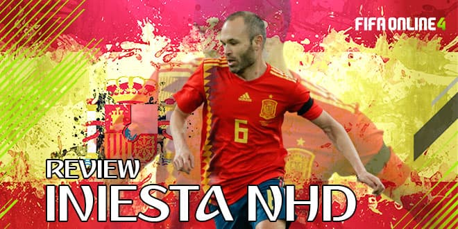 Review Andres Iniesta NHD Trong FO4-The Magician Xứ Catalunya