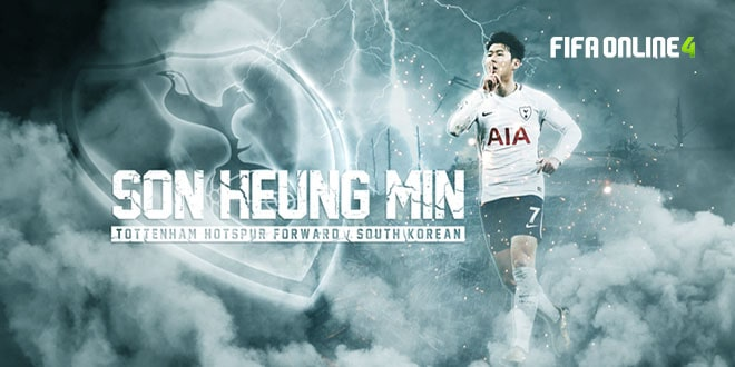 Review Son Heung Min Mùa TB Trong FiFa Online 4