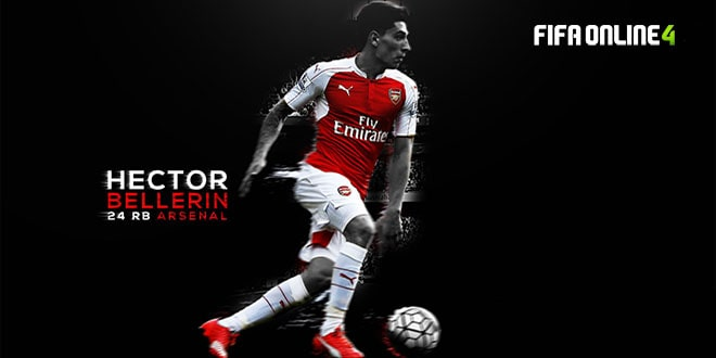 Review Hector Bellerin Mùa TB Trong FiFa Online 4