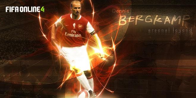 Review Dennis Bergkamp Mùa TT Trong FiFa Online 4