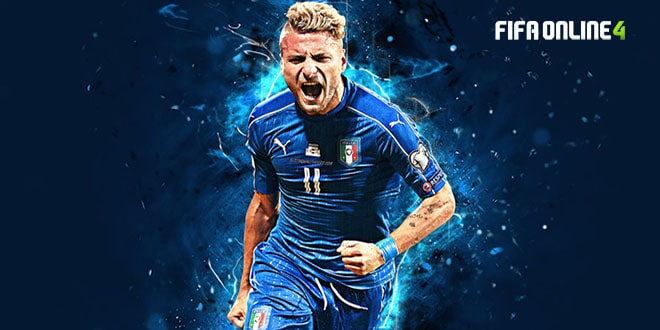 Review Ciro Immobile Mùa TB Trong FiFa Online 4