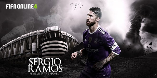 Review Sergio Ramos Mùa NHD Trong FiFa Online 4