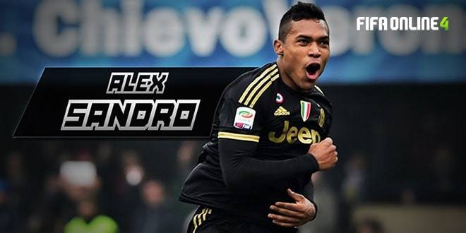 Review Alex Sandro TB Trong FiFa Online 4