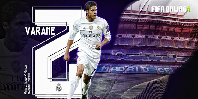 Review Varane Mùa TB (Tournament Best) Trong FiFa Online 4