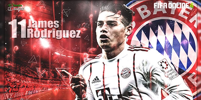 Review James Rodriguez Mùa NHD Trong FiFa Online 4