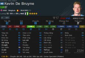 Kevin De Bruyne NHD