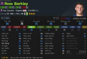 Ross Barkley tt fo4