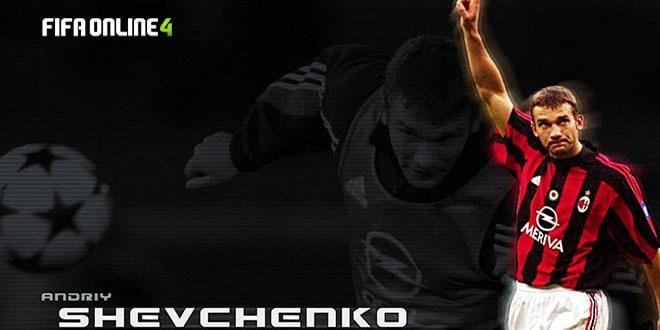 Review Andriy Shevchenko Mùa TT Trong FiFa Online 4