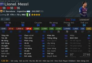 chi so messi 19toty
