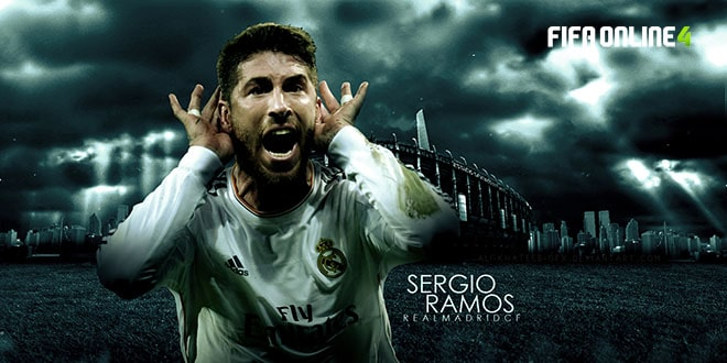 Review Sergio Ramos Mùa 19 TOTY Trong FiFa Online 4