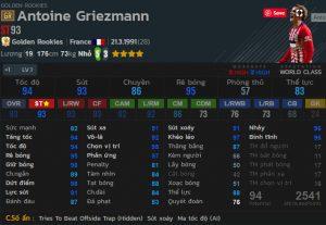 chi so Griezmann gr fo4