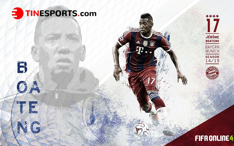 Review Jerome Boateng Mùa GR Trong Fifa Online 4
