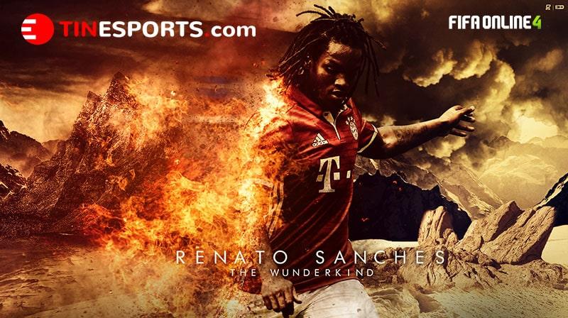 Review Renato Sanches Mùa GR Trong Fifa Online 4