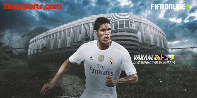 Review Varane 19 TOTY Trong FiFa Online 4