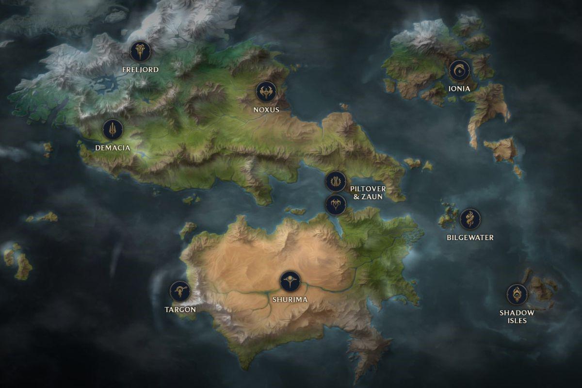 LMHT – Bản Đồ Runeterra Là Nền Tảng Phát Triển MMORPG