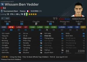 Ben Yedder tb