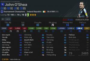 John O'Shea TC