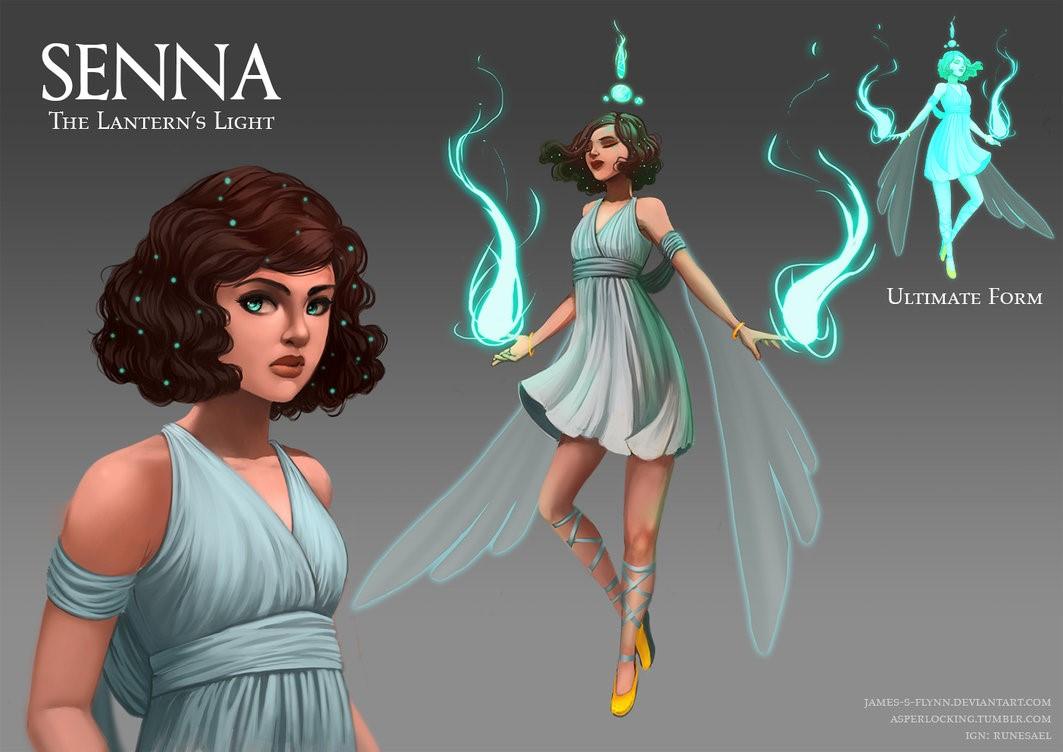 LMHT – Tướng Tiếp Theo Sẽ Là Senna – Vợ của Lucian