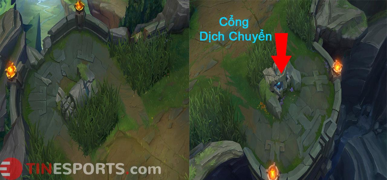 LMHT - Riot Games Se Bo Xung Cong Dich Chuyen Vao Ban Do