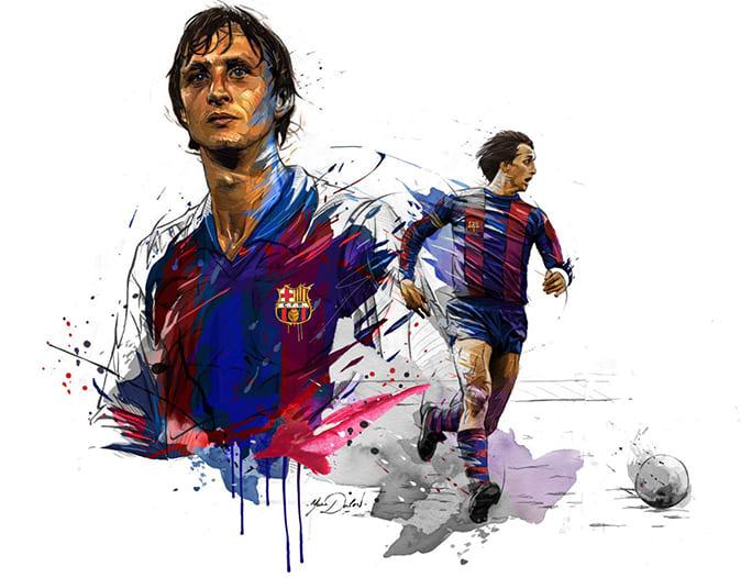 Review Johan Cruyff Mùa Icon Trong FiFa Online 4