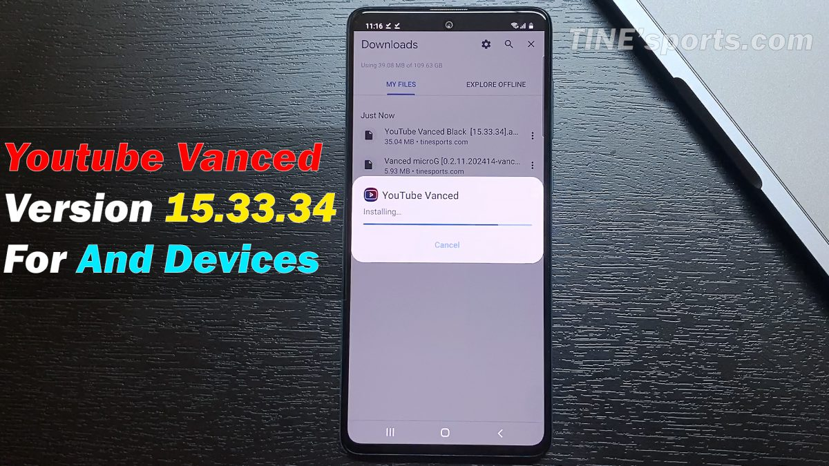 How to Install Youtube Vanced latest version 15.33.34 for any devices